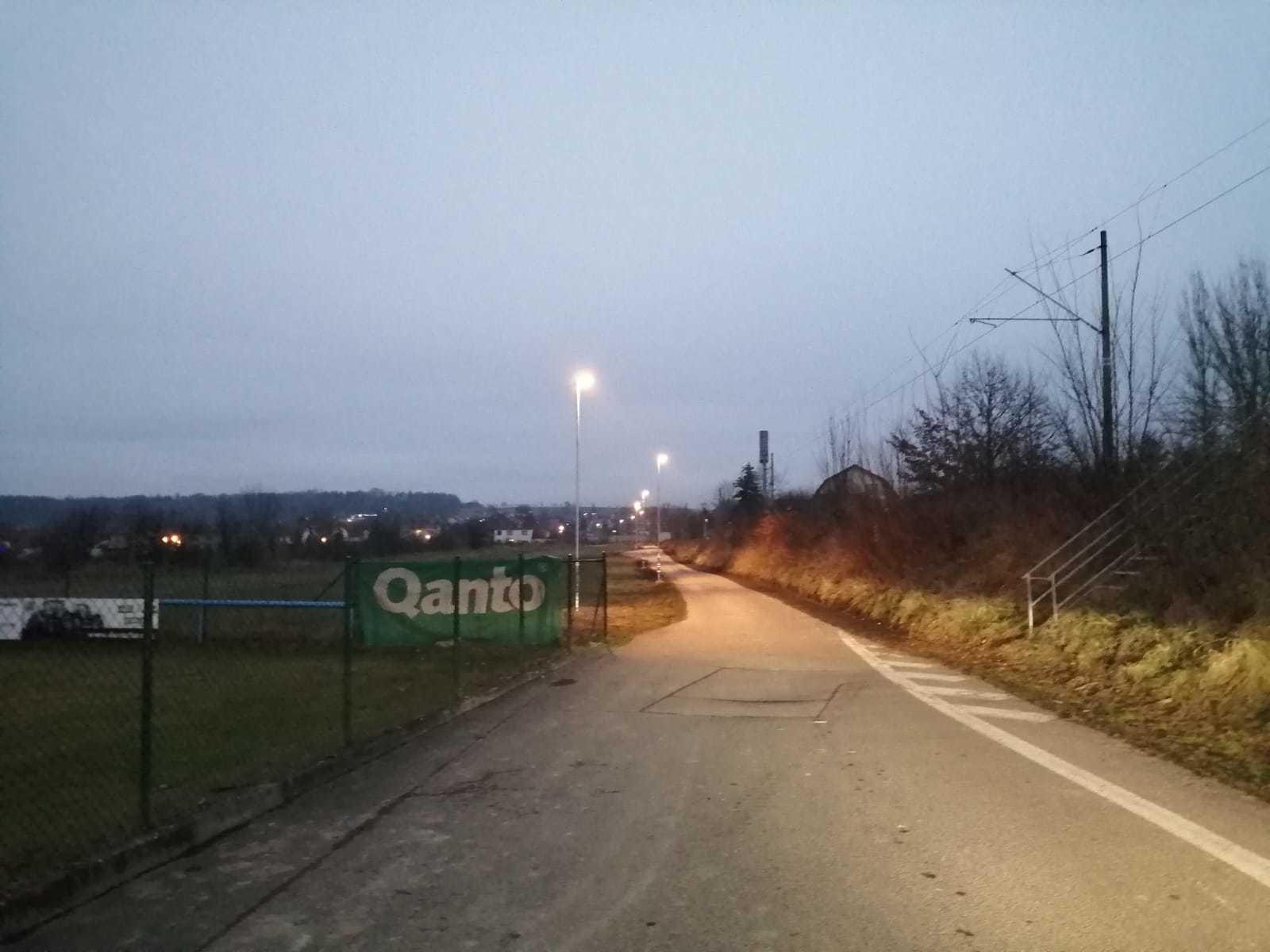 Výstavba veřejného osvětlení v části obce Hrdějovice